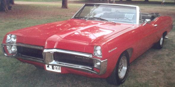 Car Pontiac Parisienne 1967