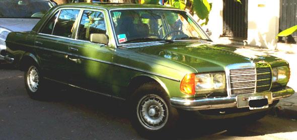 Auto Mercedes Benz W123 280e