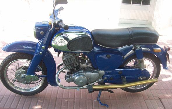 Moto Honda Benly