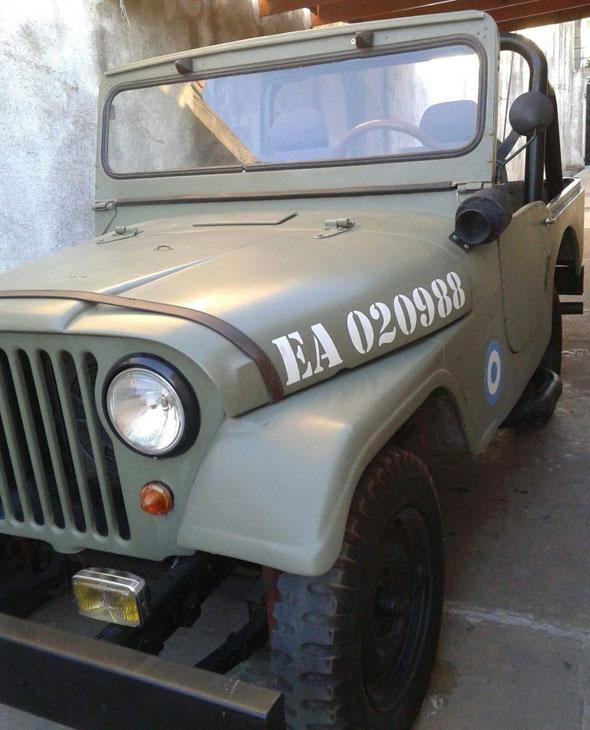 Auto Jeep 1962