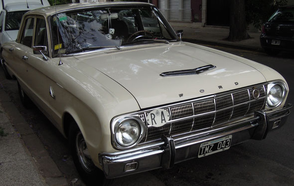 Car Ford Falcon Standard 1970