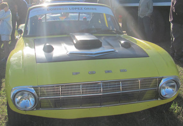 Car Ford Falcon TC 1968