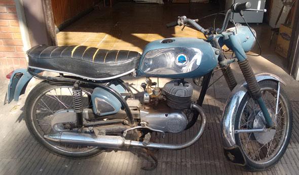 Moto Zanella Special 4 Rutera