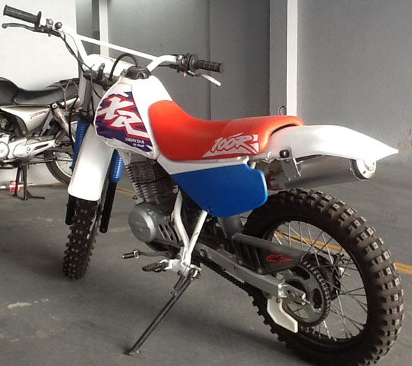 Moto Honda XR 100