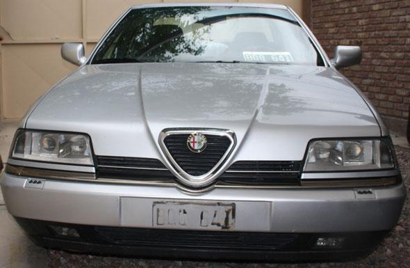 Car Alfa Romeo 164 Super 24v