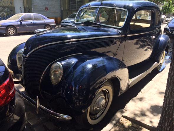 Car Ford Coupé 1938