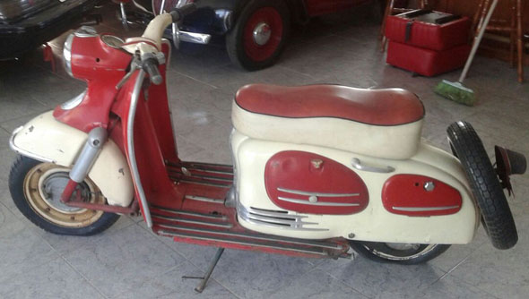 Motorcycle Puch 1958