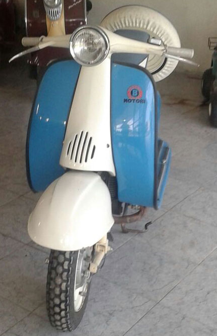 Motorcycle Motobi 1958
