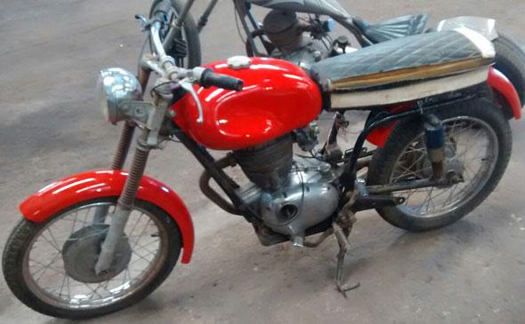 Moto Gilera 200