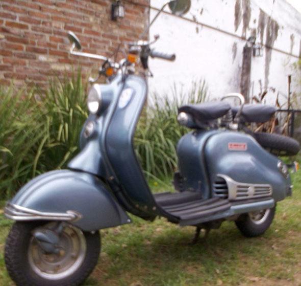 Motorcycle Siambretta Deluxe