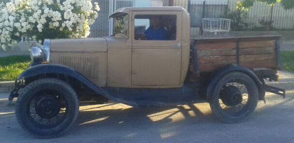 Auto Ford 1931
