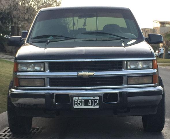 Auto Chevrolet Silverado Z71