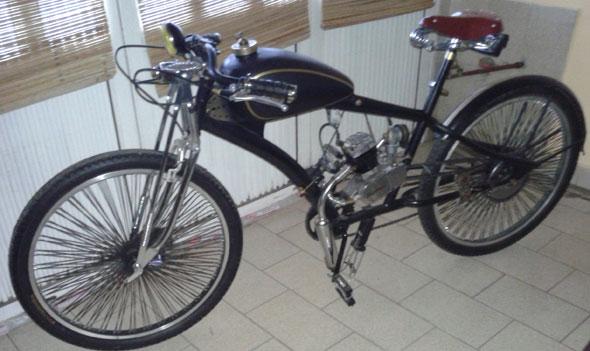Motorcycle Moto Estilo Antiguo