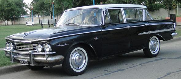Auto Rambler Ambassador 1962