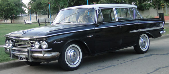 Car Rambler Ambassador 1962