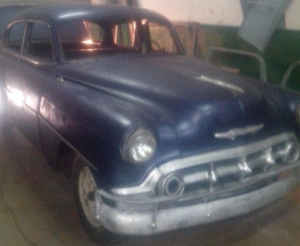 Car Chevrolet 1953 De Luxe