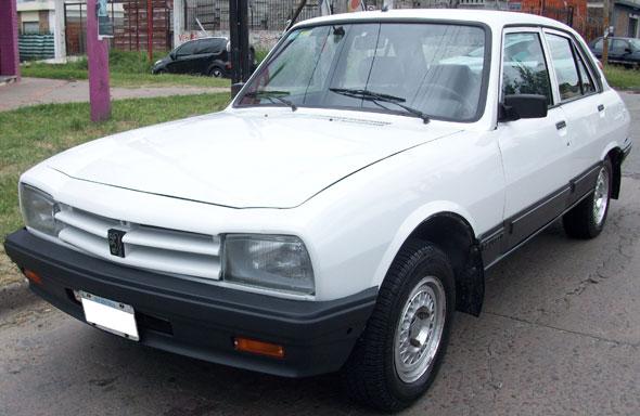 Car Peugeot 504 XSD TF 1997