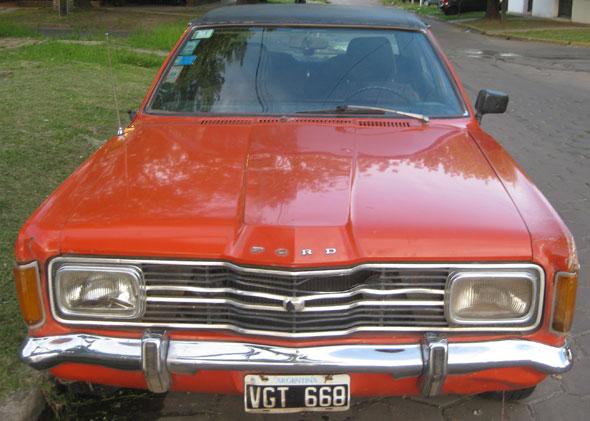 Car Ford Taunus GXL 2.0 1975