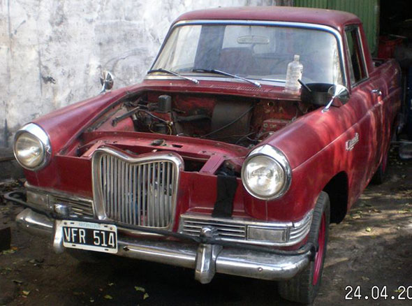 Auto Siam Argenta 1965