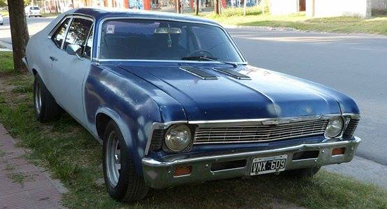 Car Chevrolet Chevy Coupé SS