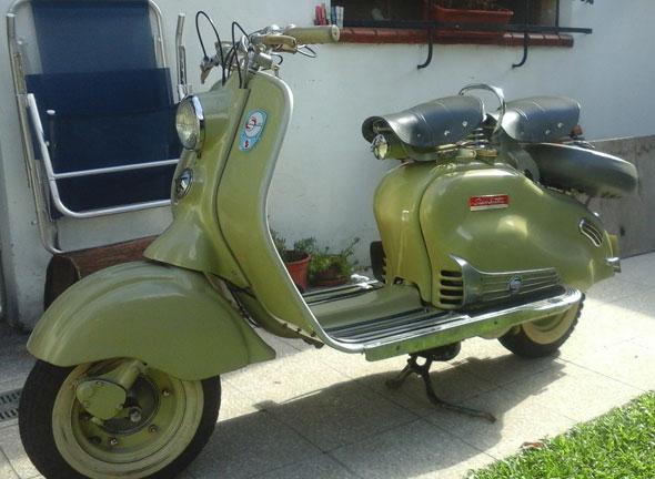 Motorcycle Siambretta LD 125