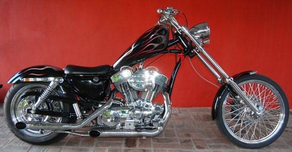 Car Harley Davidson Sporter Sport 1200