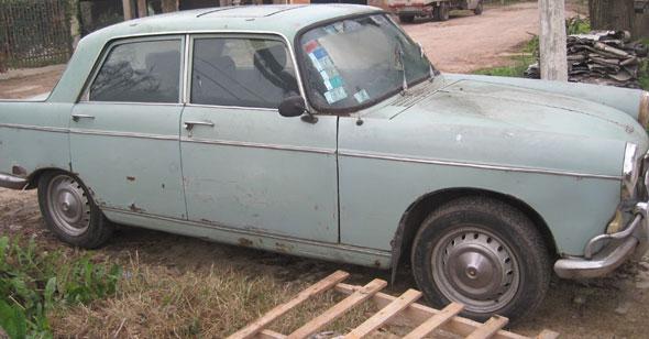 Auto Peugeot 404 1962