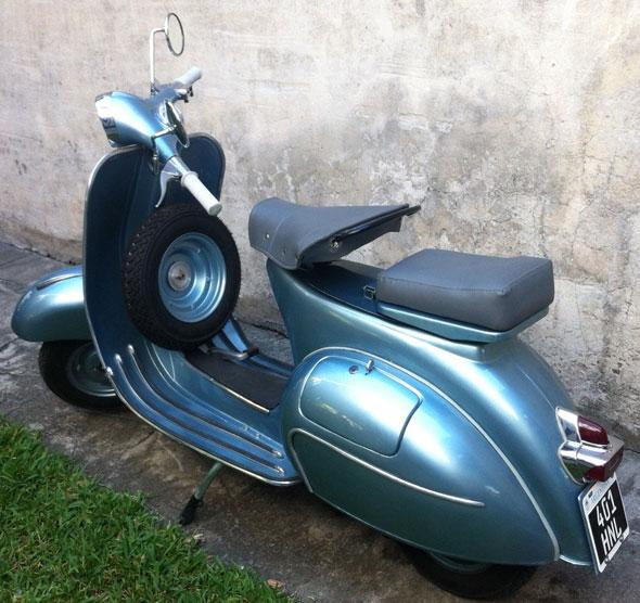 Moto Vespa VBB 150