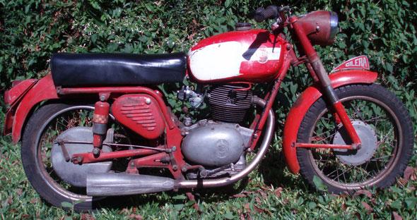 Moto Gilera Giubileo