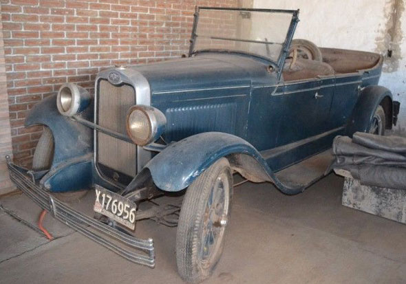 Auto Chevrolet Doble Phaeton