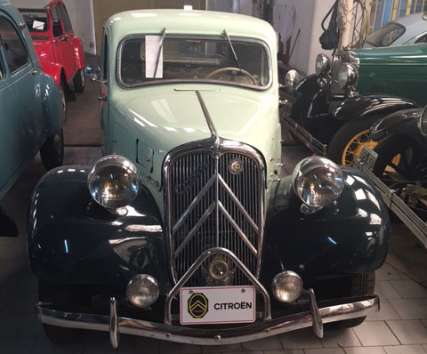 Car Citroen 1935