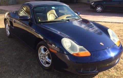 Auto Porsche Boxster 2002