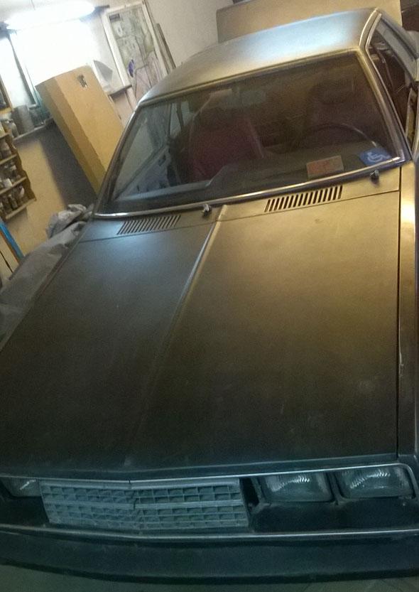 Car Mitsubishi 1980