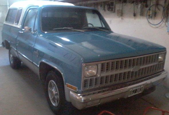 Auto Chevrolet 1981