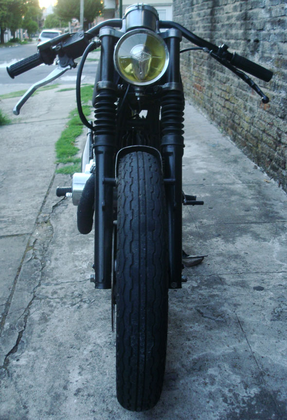 Motorcycle Jawa 350