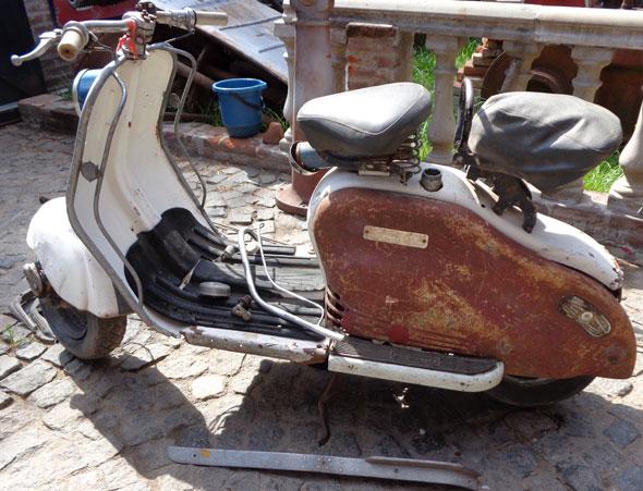 Motorcycle Siambretta 1953
