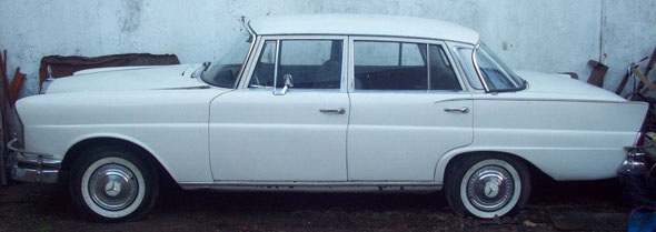 Car Mercedes Benz 1964