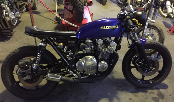 Motorcycle Suzuki GS 550 E