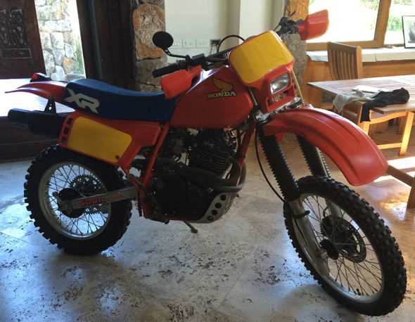 Motorcycle Honda XR600 R