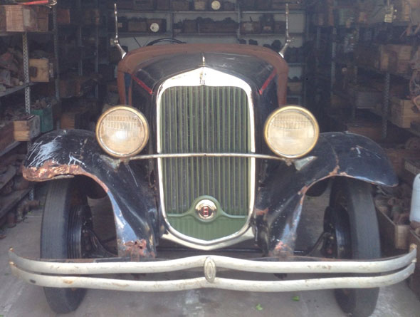 Car Dodge Chyrsler 1931