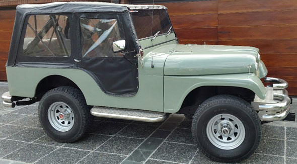 Car Jeep IKA 1974