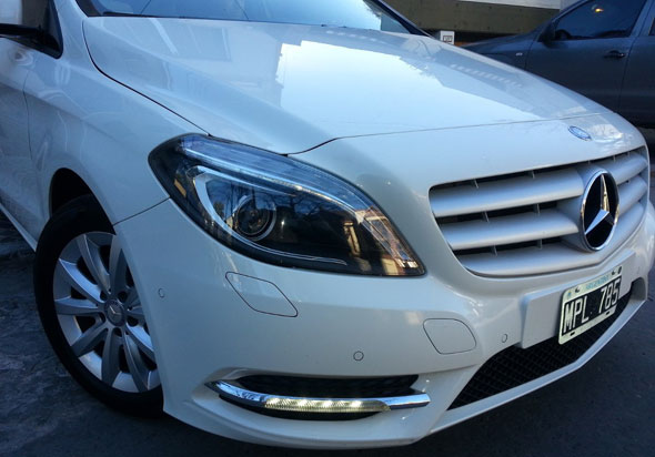 Car Mercedes Benz Clase B 200 City MT (156cv)