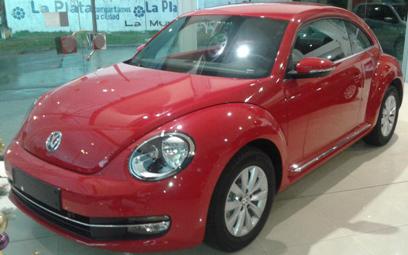 Auto Volkswagen The Beetle