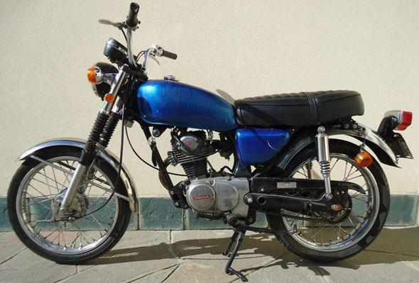 Motorcycle Honda Cb 125