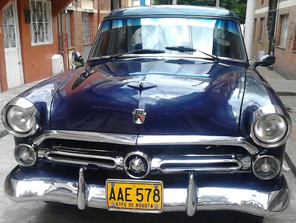 Auto Ford 1952
