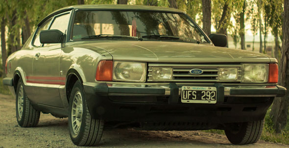 Car Ford Taunus SP5