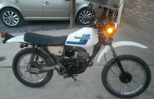 Car Kawasaki KE100