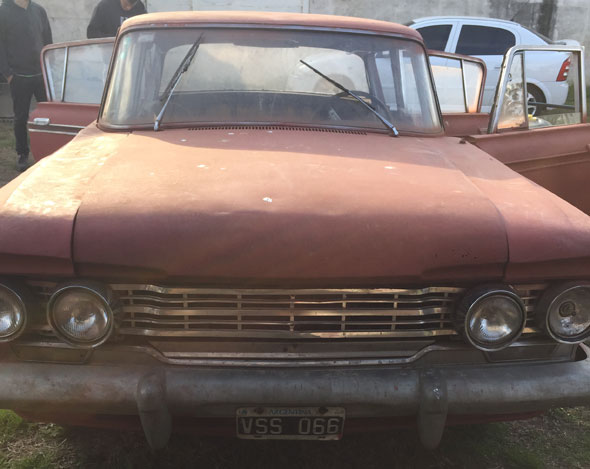 Auto IKA Rambler Custom Classic 1962