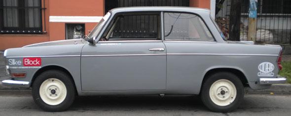 Auto De Carlo 700 1962