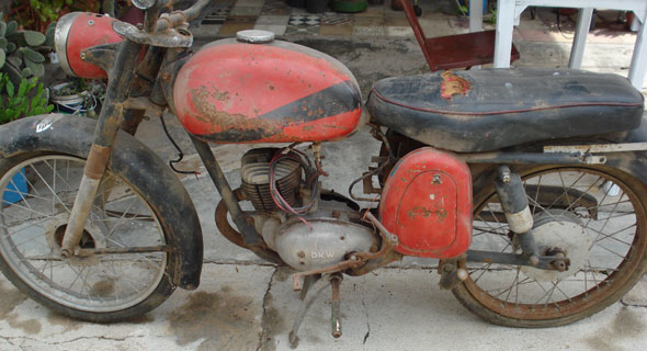 Motorcycle DKW RT 125